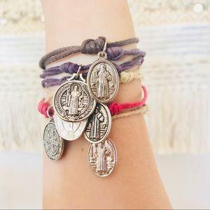 Jewelry - Cord Charm Bracelet